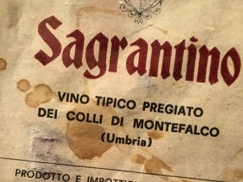 A Brief History of Sagrantino