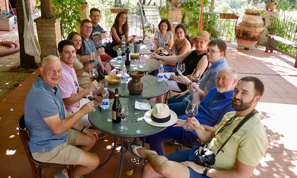 Gusto Celebration Wine Tours for Groups of 9 or More.